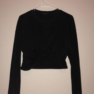 Long sleeve black shirt